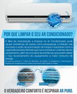 Higienização do Ar Condicionado Split